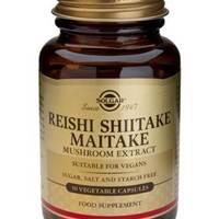 Extrakt z Shiitake, Reishi a Maitake 50 kapslí