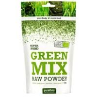 Green mix RAW BIO prášek 200g